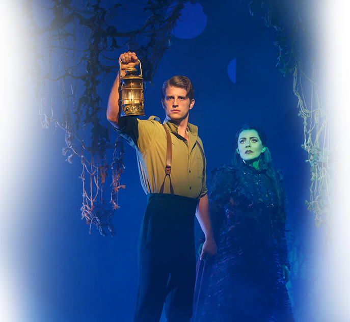 Fiyero and Elphaba