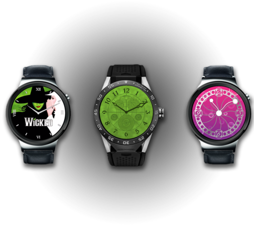 Wicked Watch Faces